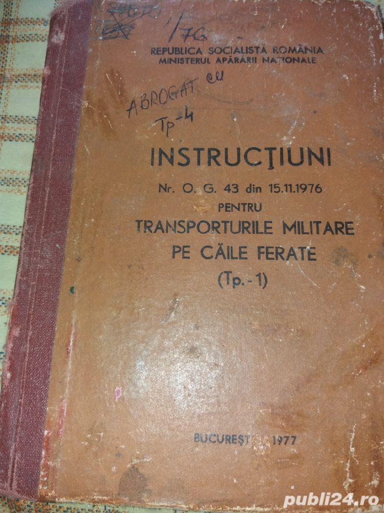 instructiuni ptr.transporturi militare pe caile ferate