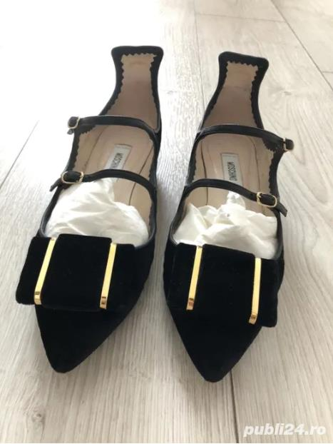 Pantofi statement Moschino