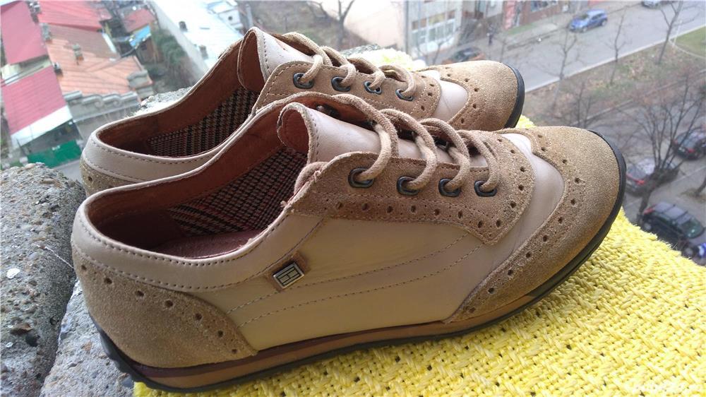 Pantofi piele Tommy Hilfiger mar. 39 (24 cm)