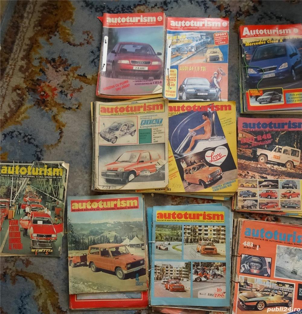 """Colectie de reviste """"Autoturism""""-1975-1997"""