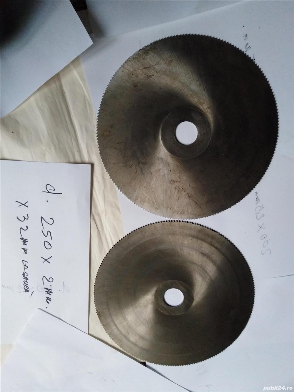 Pinze de debitat metal diametru 250mm.
