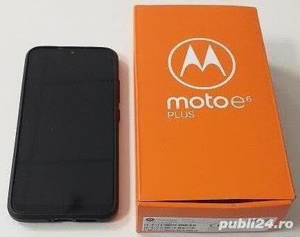 Telefon MOTOROLA Moto E6 Plus, 64GB, 4GB RAM, Dual SIM