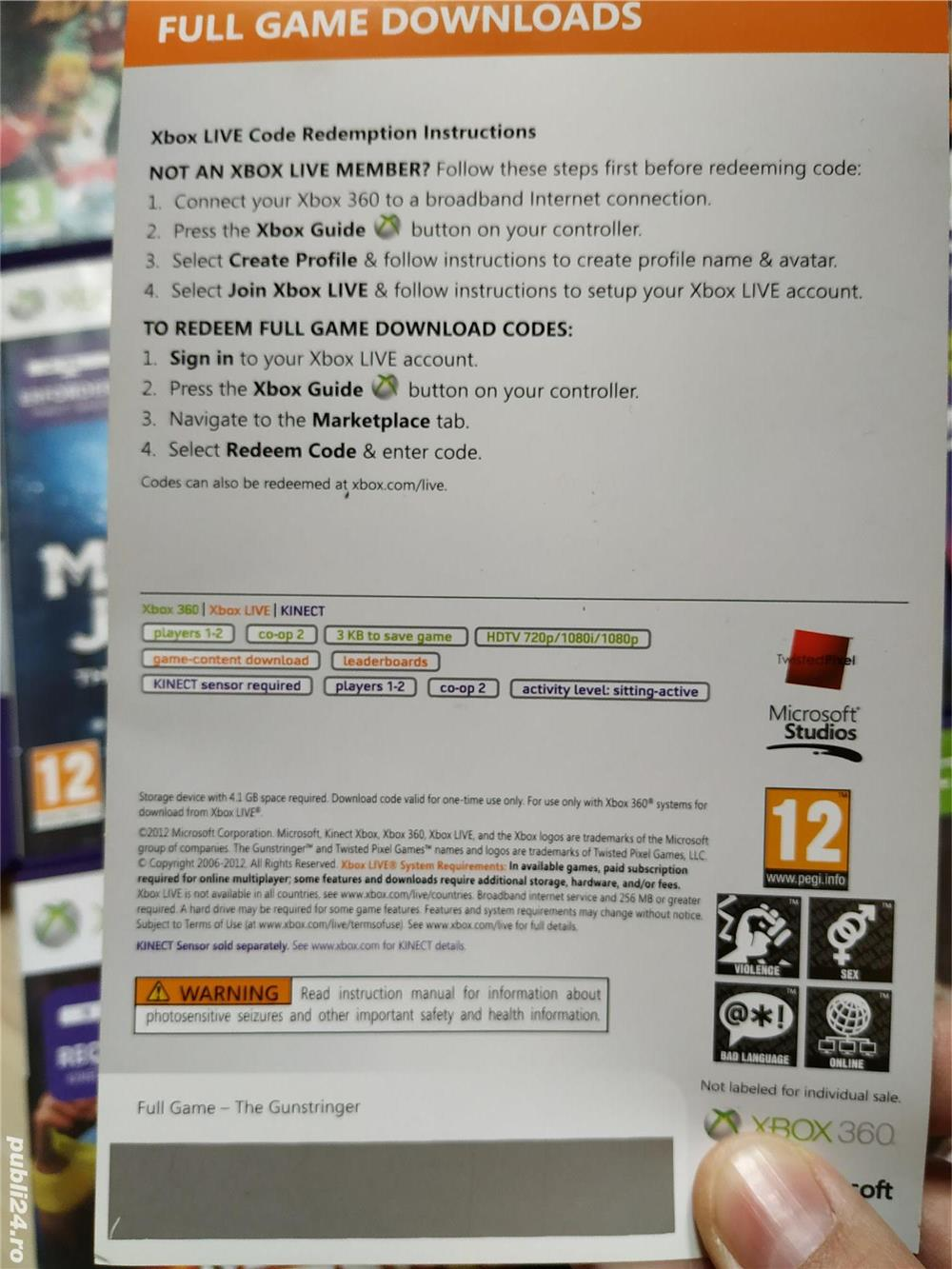 Xbox 360 Kinect: Zumba, Sports, Kung Fu Panda 2, Sonic, Star Wars,Twister, Game Party, UFC, etc