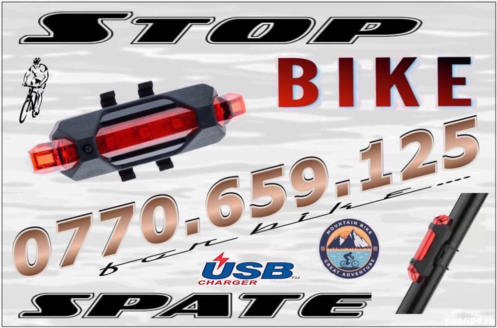 Stop spate bicicleta