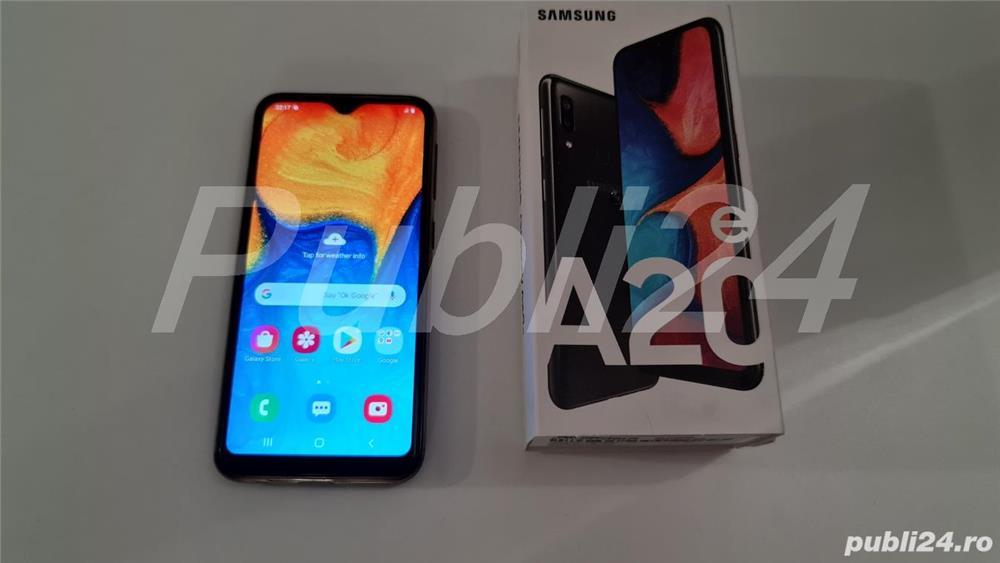 Telefon mobil Samsung Galaxy A20e, Dual SIM, 4G, Black garantie emag