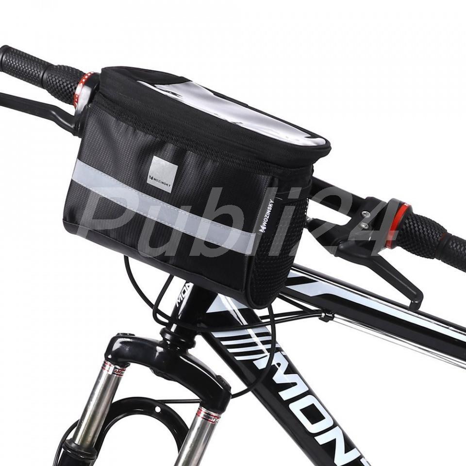 Geanta ghidon universal bicicleta trotineta suport telefon glovo bringo foodpanda