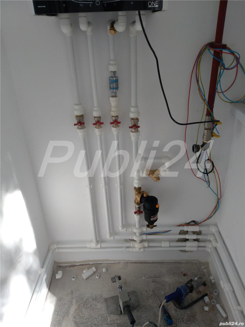 Instalator sanitar termic și canalizare