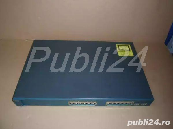 Switch Cisco seria 3560 - WS-C3560-24PS-S - 24 porturi FE + 2 porturi