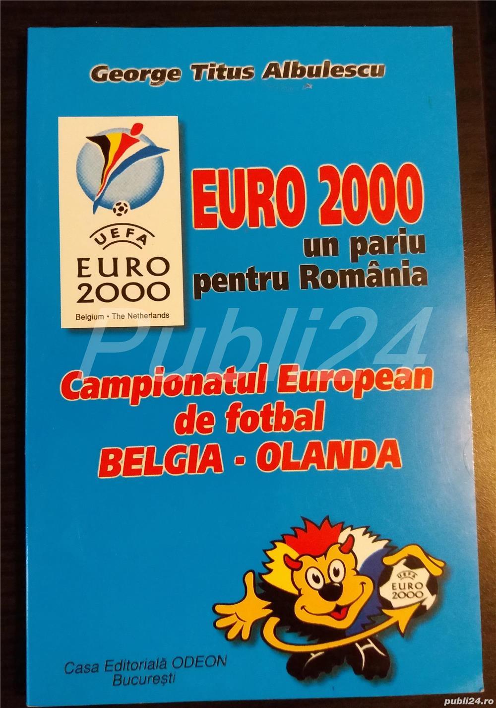 Carte Campionatul European de fotbal EURO George Titus Albulescu