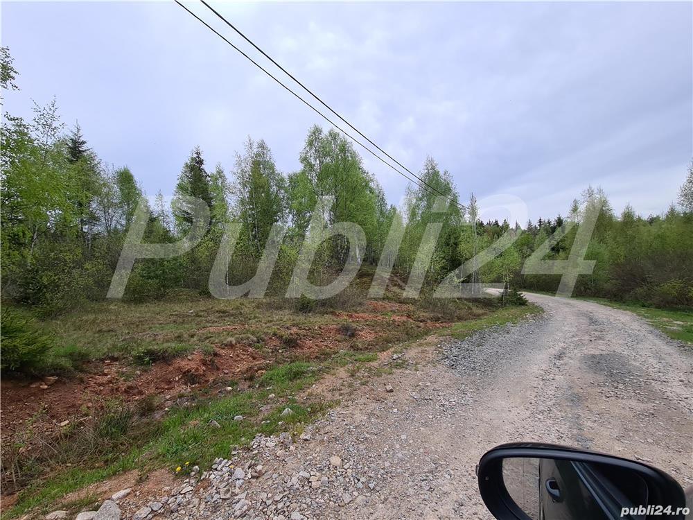 De vanzare teren de cabana in sat vacanta Calatele Padure