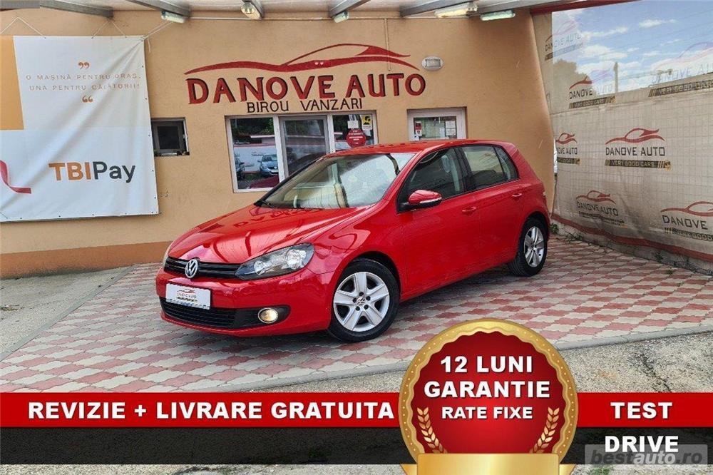 Volkswagen Golf 6 Revizie + Livrare GRATUITE, Garantie 12 Luni, RATE FIXE,1400 benzina, 2009, Euro 5
