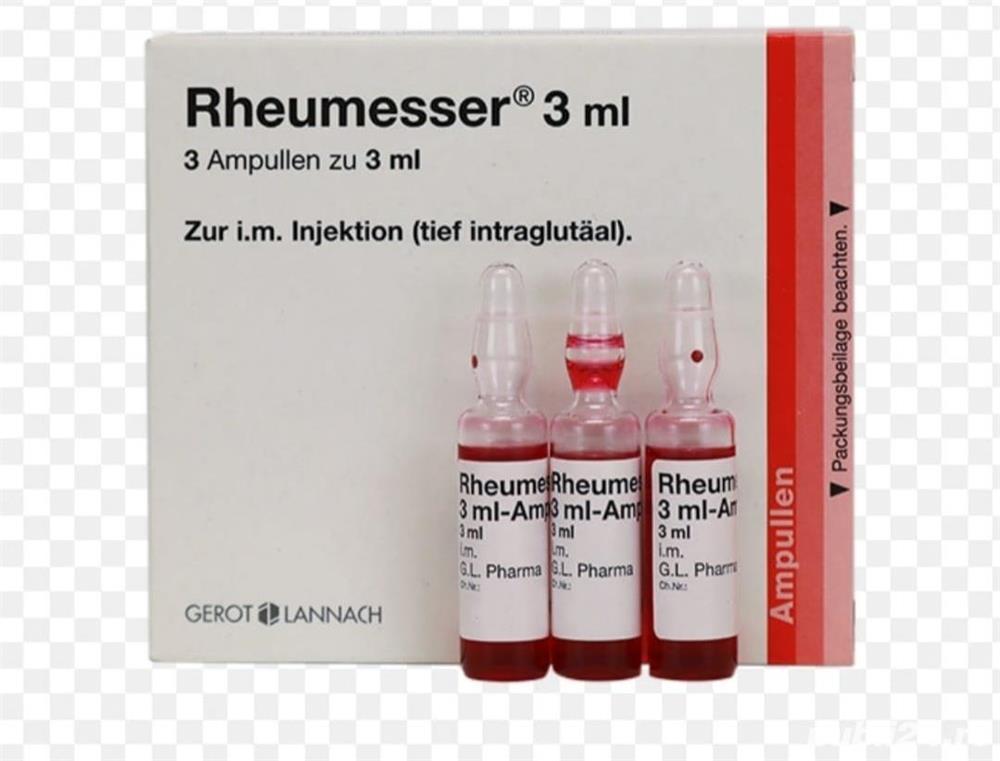 Vand Rheumesser 3 ml fiole