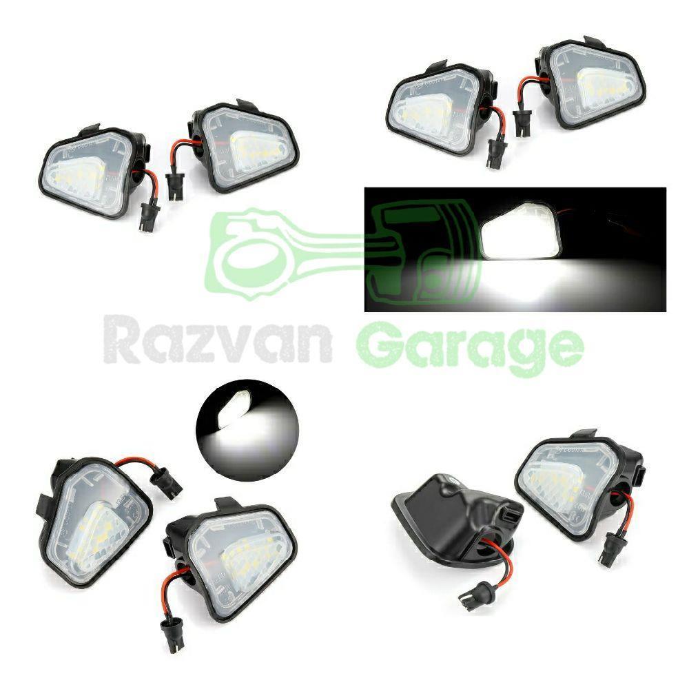 Set 2 lampi Led sub oglinda 6000k VW Passat CC B7 Jetta puddle lights