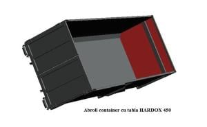 Oferta promotional la containere Abroll de 20 m3, din Hardox - imagine 1