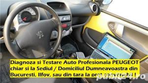 Diagnoza Citroen Peugeot Renault testare cu tester dedicat service rapid electrica auto la domiciliu - imagine 1