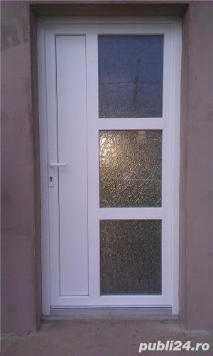 Tamplarie PVC cu geam termopan - imagine 1