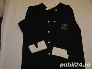 costum bucatar negru-alb - imagine 1