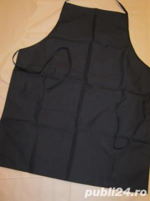 costum bucatar negru-alb - imagine 3