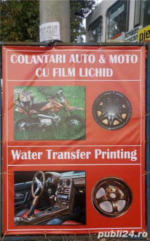 Bazin Hidrotransfer film Lichid Water transfer printing - imagine 2