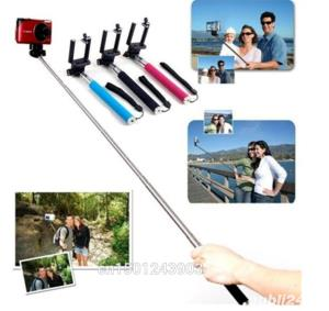 baston telescopic SELFIE stick , ptr smartphone/aparat foto/GoProHero - imagine 2