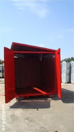 Containere Abroll cu capac si separator - imagine 1