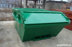 Skip container cu capac - imagine 2