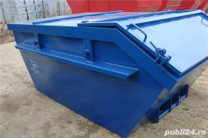 Skip container cu capac - imagine 1
