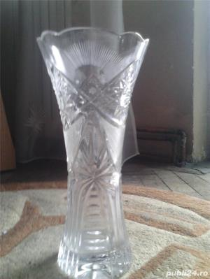 Vaza   cristal   de   Bohemia - imagine 1