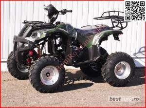 Atv BIG Mega Grizzly FARMER 250cc cu trepte - imagine 9