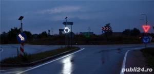indicatoare rutiere cu leduri si solar - imagine 1