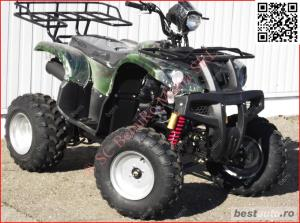 Atv BIG Mega Grizzly FARMER 250cc cu trepte - imagine 12