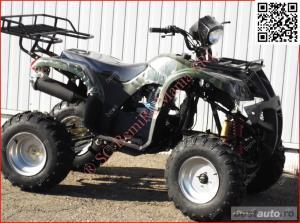 Atv BIG Mega Grizzly FARMER 250cc cu trepte - imagine 10