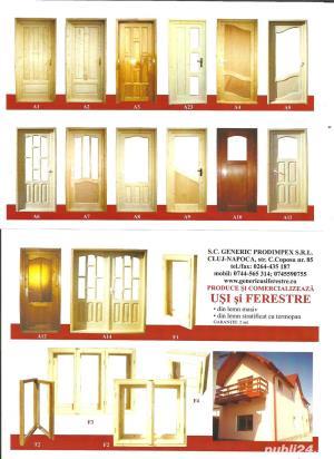 Usi de interior si exterior din lemn - imagine 2