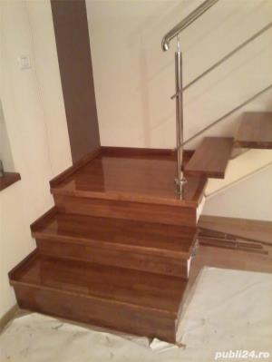 Placare trepte cu lemn masiv - imagine 1