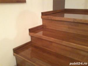 Placare trepte cu lemn masiv - imagine 2
