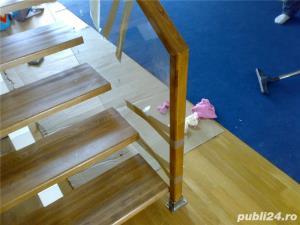 Placare trepte cu lemn masiv - imagine 3