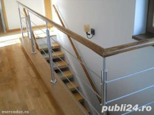 Placare trepte cu lemn masiv - imagine 4