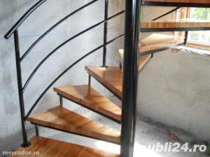 Placare trepte cu lemn masiv - imagine 5