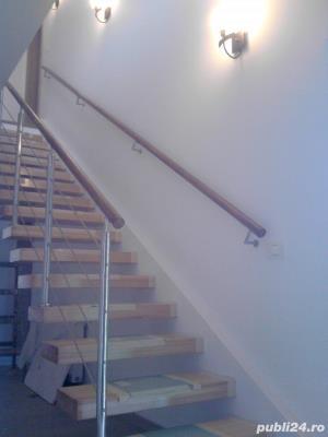 Balustrade si trepte din lemn - imagine 2