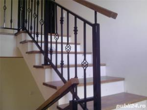 Balustrade si trepte din lemn - imagine 1