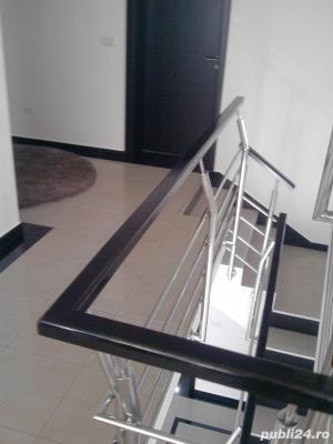 Balustrade si trepte din lemn - imagine 6