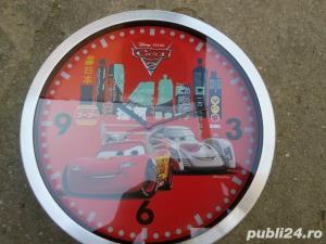 Ceas Disney Cars de perete - imagine 1
