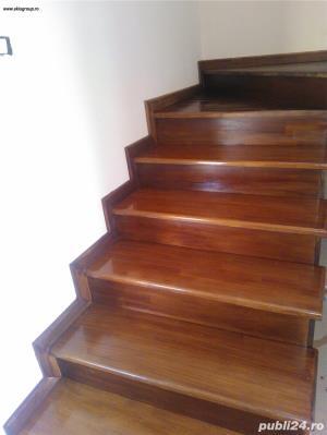 Trepte lemn masiv - imagine 5