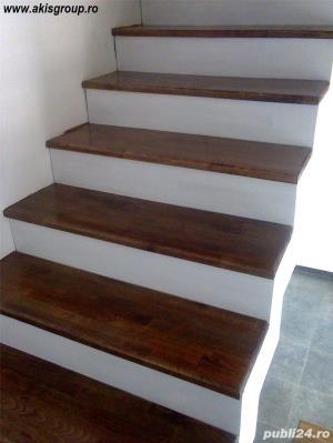 Trepte lemn masiv - imagine 1