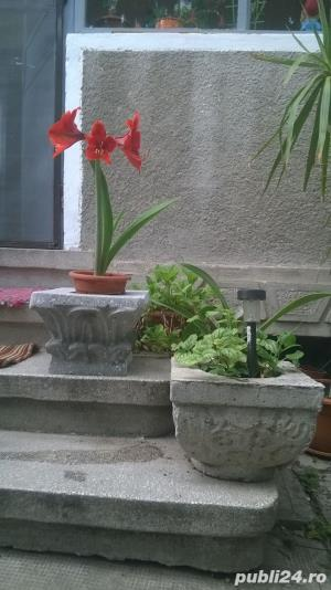 Sacsii pentru flori (Ghivece din mozaic) - Manufactura! - imagine 1