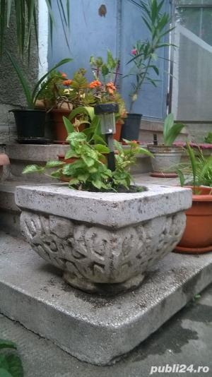 Sacsii pentru flori (Ghivece din mozaic) - Manufactura! - imagine 2