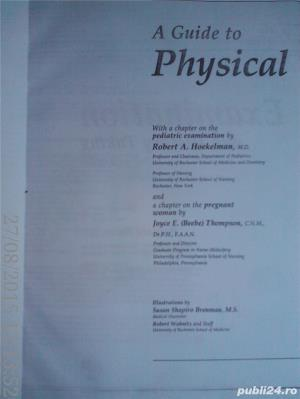 A Guide to Physical Examination and History-Taking , Bates,  xerox A4 - imagine 1