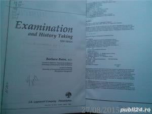 A Guide to Physical Examination and History-Taking , Bates,  xerox A4 - imagine 2