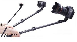 baston telescopic SELFIE stick , ptr smartphone/aparat foto/GoProHero - imagine 7