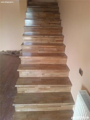 Trepte lemn masiv - imagine 2